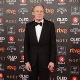 Billy Nighy en la alfombra roja de los Premios Goya 2018
