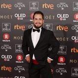 Juan Manuel Montilla en la alfombra roja de los Premios Goya 2018