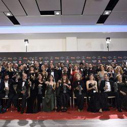 Los ganadores de los Premios Goya 2018