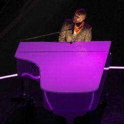 Justin Timberlake al piano en la Super Bowl 2018