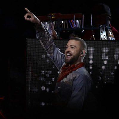 Justin Timberlake puso al estadio de pie durante su actuación en la Super Bowl 2018