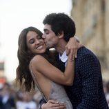 Macarena García y Javier Ambrossi en la premiere de 'La llamada' en el Festival de San Sebastián 2017