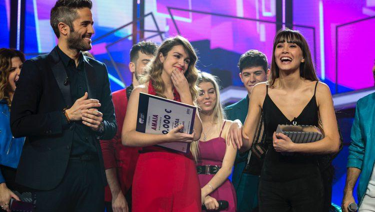 Aitana da las gracias por ser la segunda clasificada de 'OT 2017'
