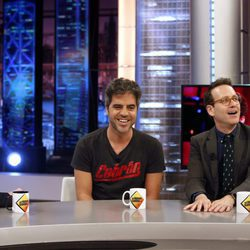 Ernesto Sevilla, Joaquín Reyes y Pablo Motos en 'El Hormiguero'