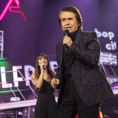 Raphael durante la gala final de 'OT 2017'