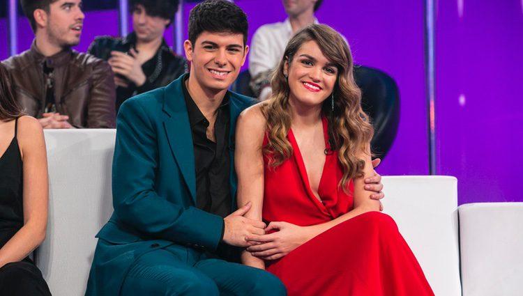 Alfred y Amaia durante la gala final de 'OT 2017'