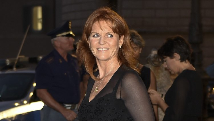 Sarah Ferguson en Roma