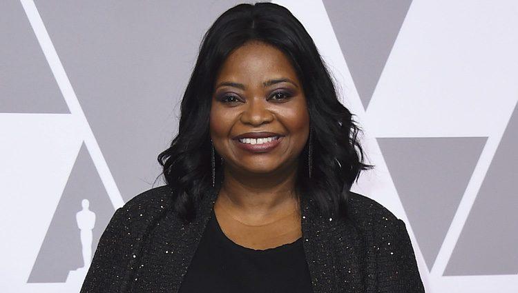 Octavia Spencer en el almuerzo de los nominados de los Premios Oscar 2018