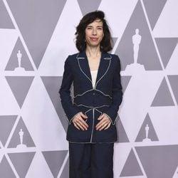 Sally Hawkins en el almuerzo de los nominados de los Premios Oscar 2018