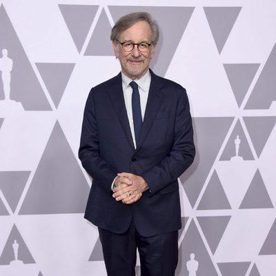 Steven Spielberg en el almuerzo de los nominados de los Premios Oscar 2018
