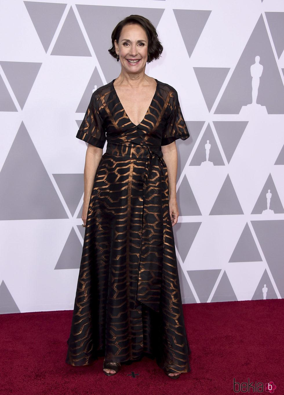 Laurie Metcalf en el almuerzo de los nominados de los Premios Oscar 2018