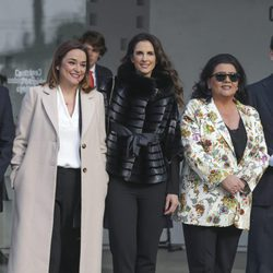 Toñi Moreno, Nuria Fergó y María del Monte en la Entrega de las Medallas de Oro al Mérito en las Bellas Artes 2016
