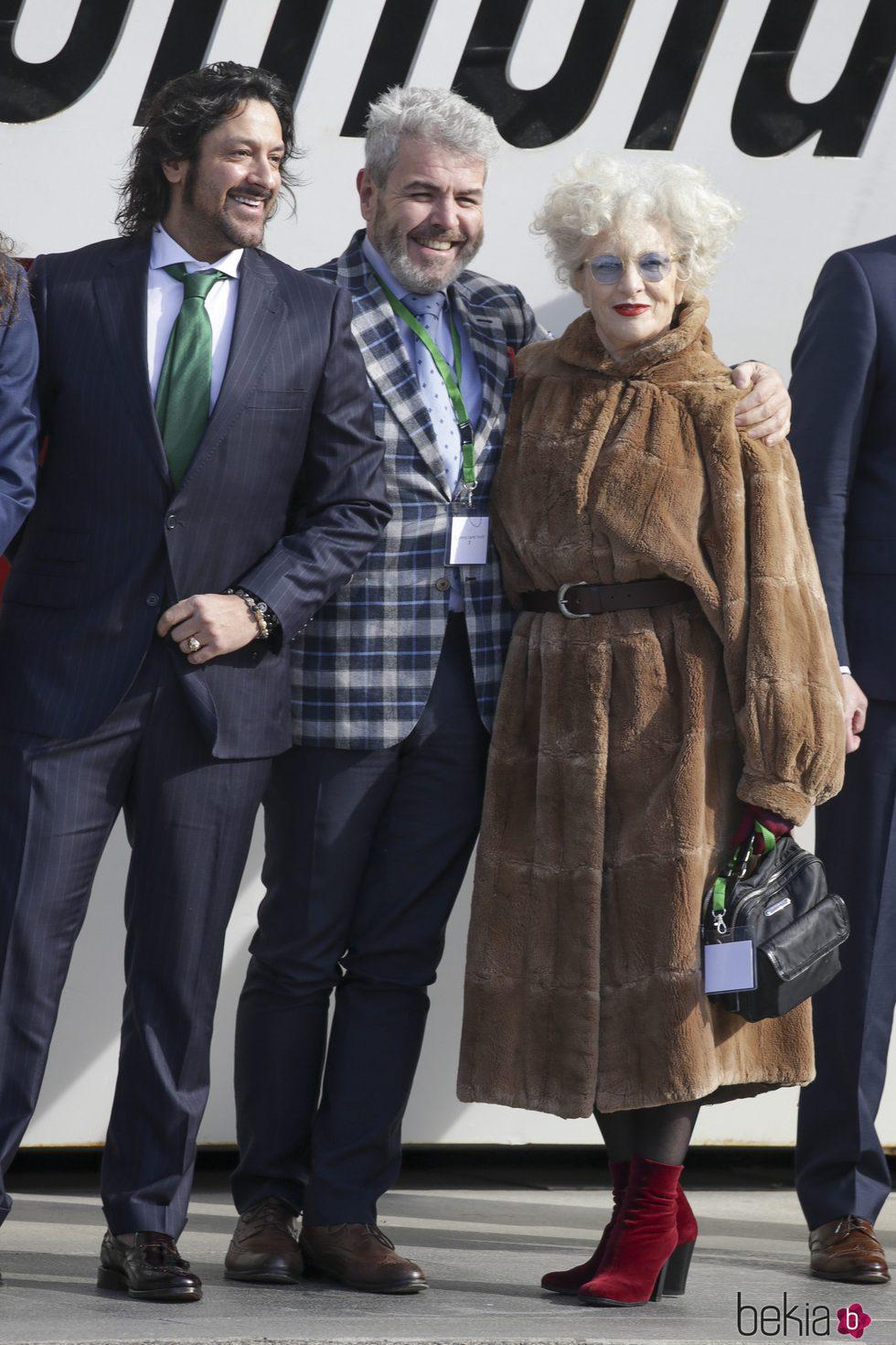 Rafael Amargo, Lorenzo Caprile y Magüi Mira en la Entrega de las Medallas de Oro al Mérito en las Bellas Artes 2016