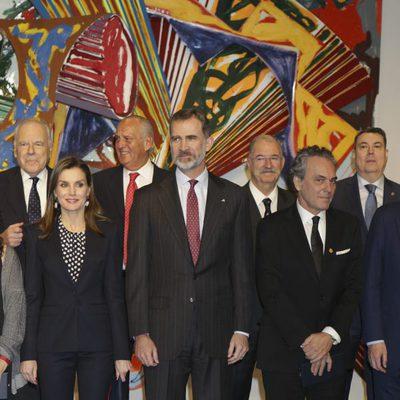 Los Reyes Felipe y Letizia y José Coronado en la Entrega de las Medallas de Oro al Mérito en las Bellas Artes 2016