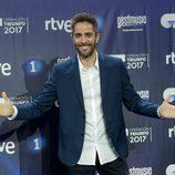 Roberto Leal en la rueda de prensa del final de 'OT 2017'
