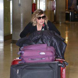 Terelu Campos vuelve de su viaje a Chile con 'Las Campos'