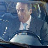 Francis Franco conduciendo en Madrid