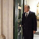 Francis Franco en el entierro de Carmen Franco