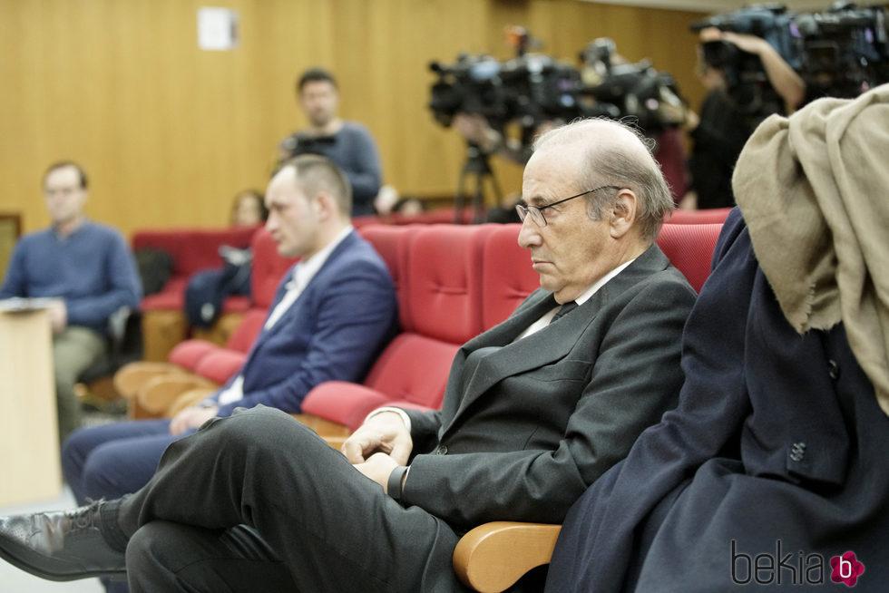 Francis Franco en su juicio en Teruel