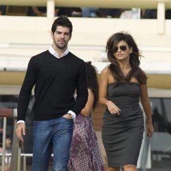 Miguel Ángel Muñoz y Mónica Cruz en Cannes