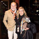 Carmen Borrego y José Carlos Bernal en la fiesta del 36 cumpleaños de Kike Calleja