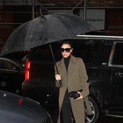 Victoria Beckham durante la New York Fashion Week