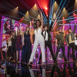Los concursantes de 'OT 2017' cantan 'La revolución sexual' en la fiesta final