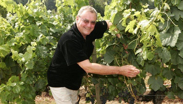 Enrique de Dinamarca con sus viñedos