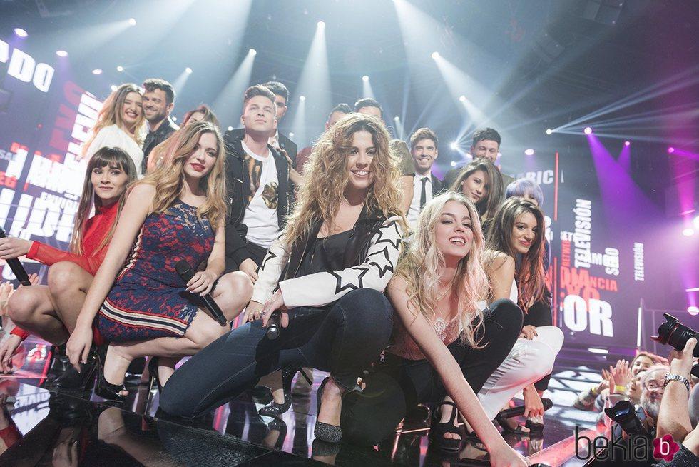Los concursantes de 'OT 2017' interpretaron 'A quien le importa' en la fiesta final