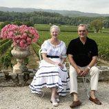 Margarita y Enrique de Dinamarca de vacaciones en su castillo de Cayx