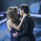 Alfred y Amaia cantando 'Tu canción' en la fiesta final de 'OT 2017'