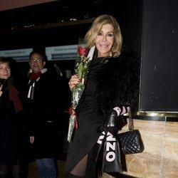 Bibiana Fernández en la celebración de su 64 cumpleaños
