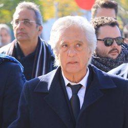 Chiquetete durante el funeral de su madre Manuela Pantoja