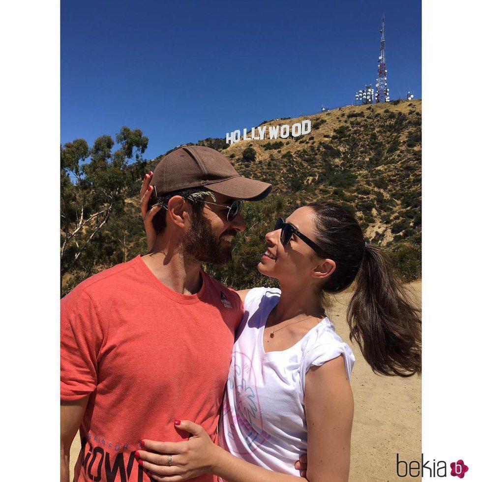 Candela Serrat y Daniel Muriel, enamorados en Los Ángeles