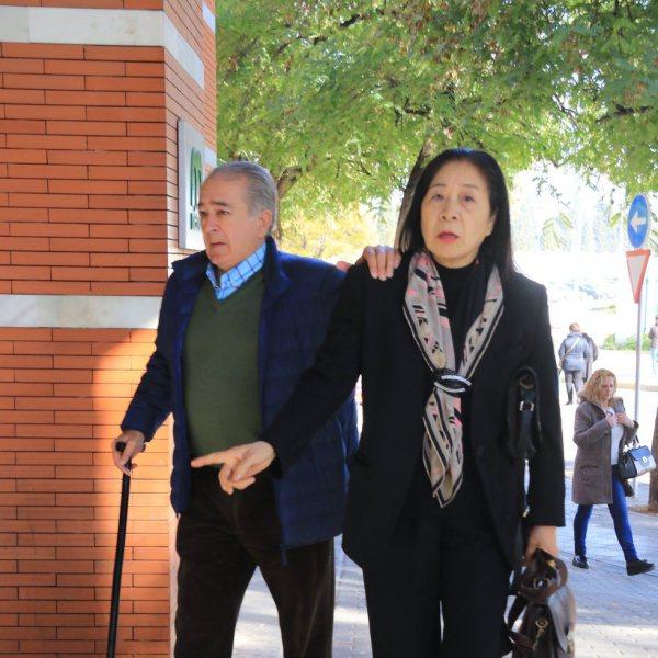 Asistentes al tanatorio y entierro de Manuela Pantoja Cortés