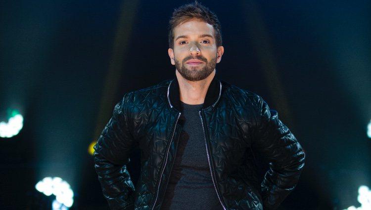 Pablo Alborán durante la presentación de su nuevo 'Tour Prometo'