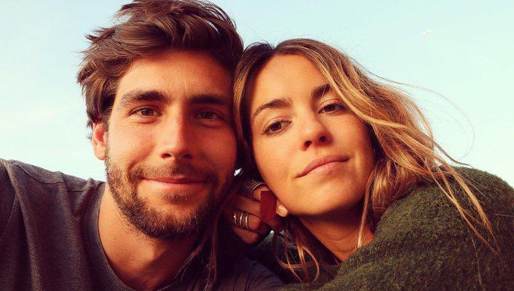 Álvaro Soler y Sofía Ellar celebrarando juntos  San Valentín