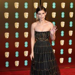 Kate Mara en la alfombra roja de los Premios BAFTA 2018