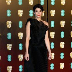 Gemma Arterton en la alfombra roja de los Premios BAFTA 2018