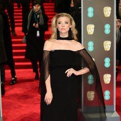 Natalie Dormer en la alfombra roja de los Premios BAFTA 2018