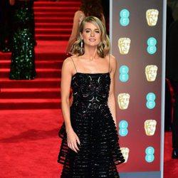 Cressida Bonas en la alfombra roja de los Premios BAFTA 2018