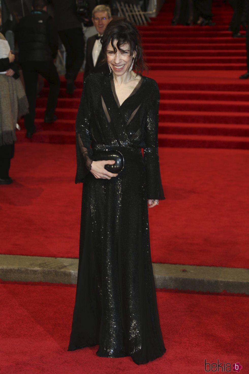 Sally Hawkins en la alfombra roja de los Premios BAFTA 2018