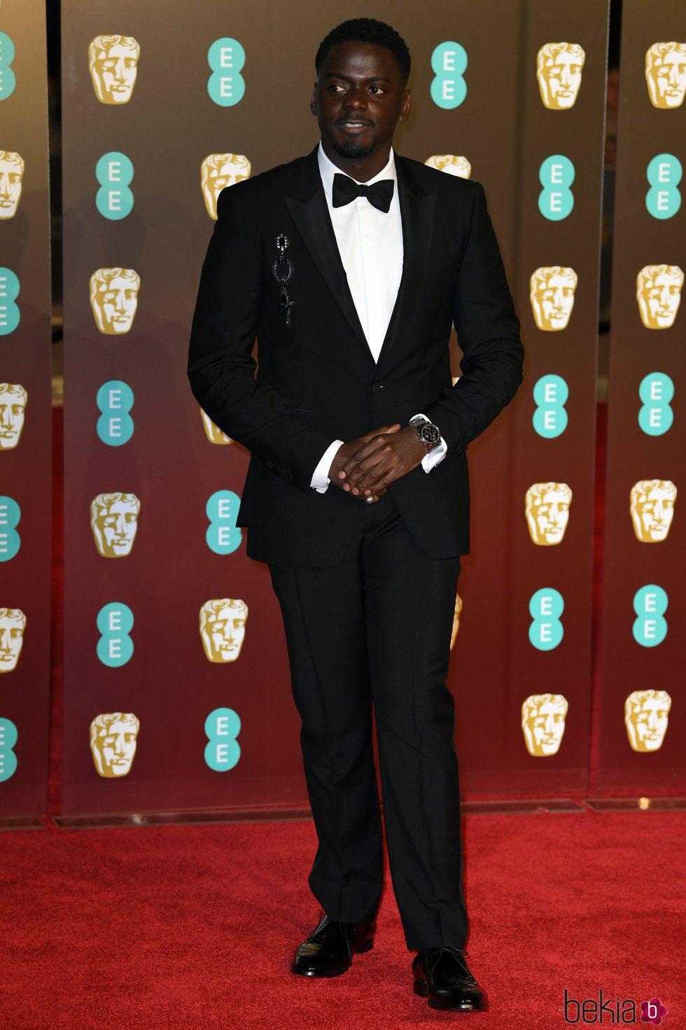 Daniel Kaluuya en la alfombra roja de los Premios BAFTA 2018