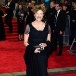 Annette Bening en la alfombra roja de los Premios BAFTA 2018