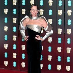 Allison Janney en la alfombra roja de los Premios BAFTA 2018
