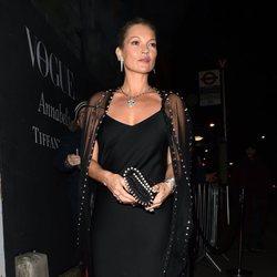 Kate Moss en la fiesta de Vogue tras los BAFTA