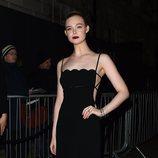 Elle Fanning en la fiesta de Vogue tras los BAFTA