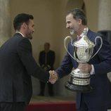 El Rey Felipe entrega el Premio Nacional de Deporte 2016 a Saúl Craviotto