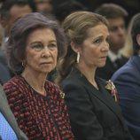 La Reina Sofía y la Infanta Elena en la entrega de los Premios Nacionales de Deporte 2016