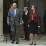 Los Reyes Juan Carlos y Sofía en la entrega de los Premios Nacionales de Deporte 2016